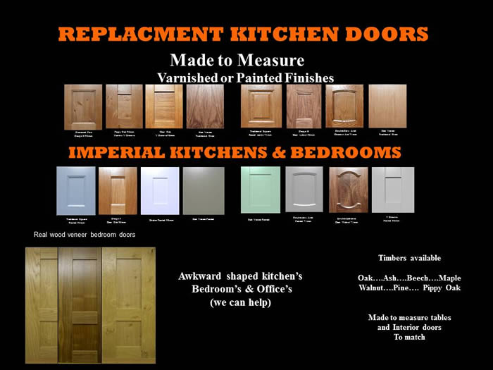 Mafe to Measure Replacement Doors